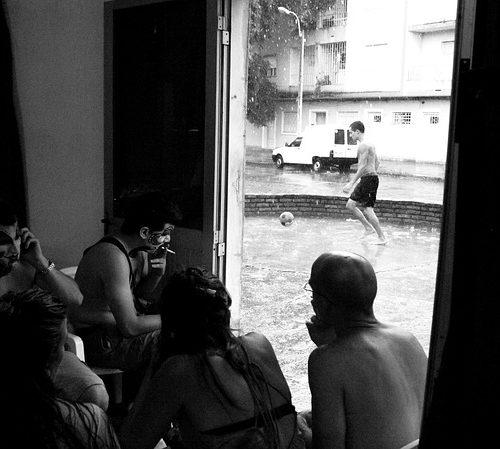 屋良充紀(やらみつとし)コラム-ストリートサッカー